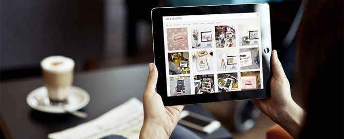 business photos ipad