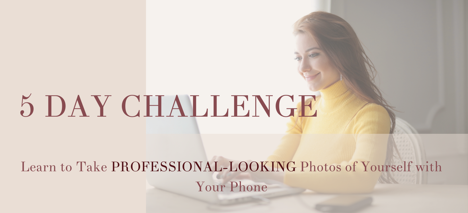Learn to take professional-looking photos with your phone